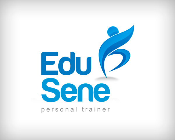 Cool Personal Trainer Logo